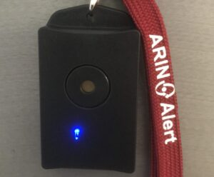 ARINAlert Alerting Style Wearable